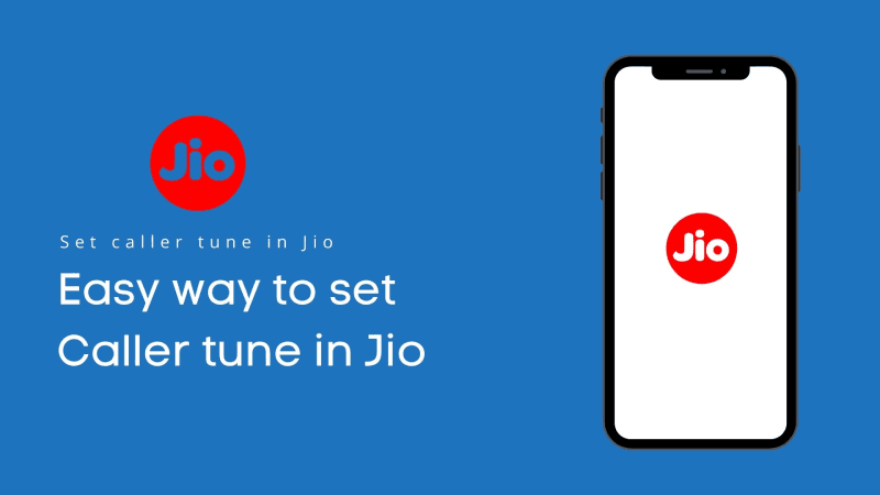 set caller tune in Jio