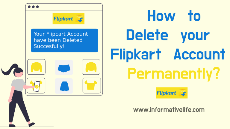 How To Delete Flipkart Account Permanently