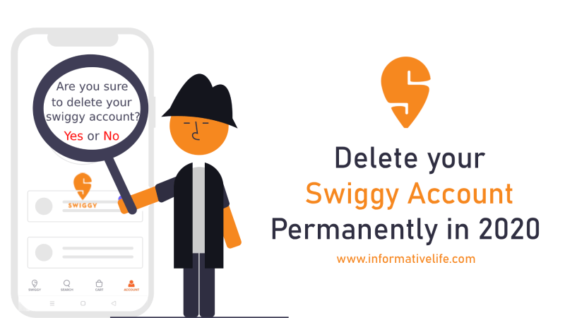 How To Delete Swiggy Account Permanently 2020