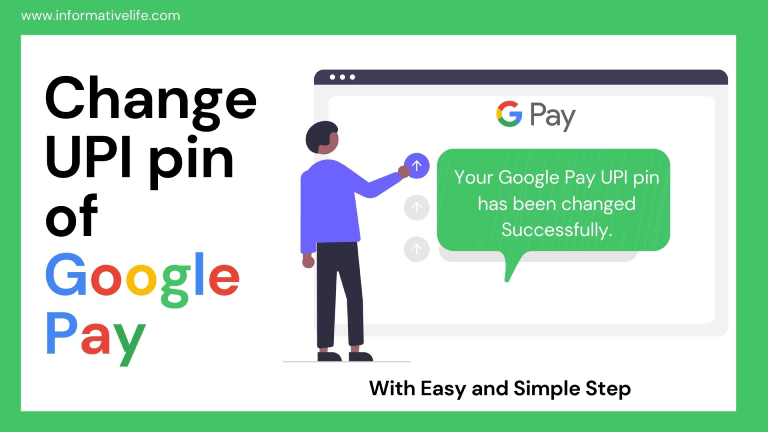 How To Change Or Reset UPI Pin Of Google Pay In 2020