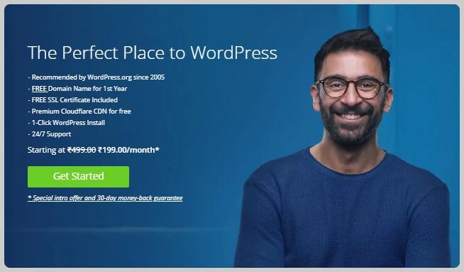 Bluehost Best WordPress Hosting Provider