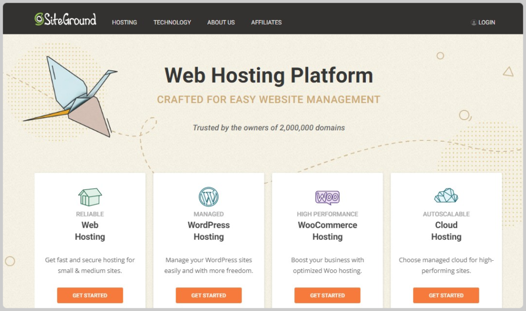 which hosting is most suitable for a blog